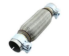55x200mm Acciaio inox Tubo Di Scarico Flexrohr Tubo a y Pezzo flessibile incl.