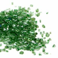 """10 Pounds Fire Glass  High Luster Reflective Fire Glass for Firepit 3/8"""" - 1/2"""""""