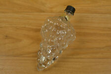 Toscany Hand Blown Glass Grape Bottle Made In Turkey Approx. 6 1/2 Inches Tall
