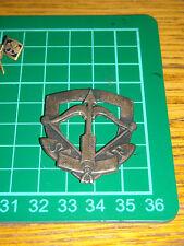girl scout  boy scout ANTICO  stemma  pin spilla distintivo  S F