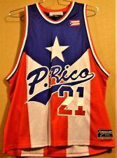 Puerto Rico Mega Usa #21 Basketball Size 2Xl Jersey