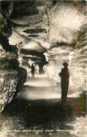 Cook Grand Avenue 1930s Twain Cave HANNIBAL MISSOURI RPPC Real photo 2997