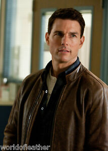 Tom Cruise Jack Reacher Cow Hide Excellent Quality Genuine Leather Jacket