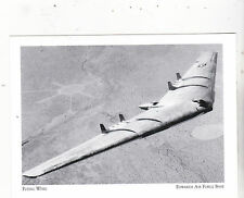 "+PC-Postcard-""Flying Wing/Jet Powered YB-49""  *Edwards Air Force Base (#111)"