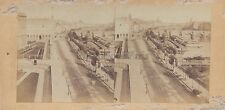 Paris la Seine Pont Neuf Stéréo Stereoview Vintage Albumine ca 1860