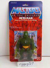 MOTU, Commemorative Moss Man, MISB, sealed box, MOC, Masters of the Universe