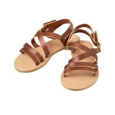 Nwt Crazy 8 by Gymboree Girl Brown Strappy Sandals Sz: 9