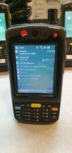 MOTOROLA SYMBOL MC70 PDA MC7094 BARCODE HANDHELD SCANNER MC7094-PKCDJRHA8WR
