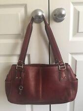 FOSSIL Pebble Brown  Leather Blackburn  Satchel Shoulderbag  ZB9961