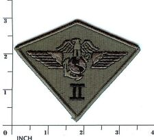 USMC 2d MAW subdued OD PATCH 2nd Marine Aircraft Wing camo! Air Wing Marines
