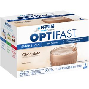 OPTIFAST® 800 CHOCOLATE POWDER SHAKES | 12 BOXES | 84 SERVINGS | LATEST DATES