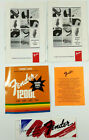 Fender 1200L Owner's Manual Specifications Sticker Manuel Autocollant