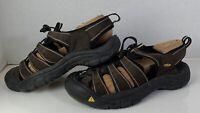 KEEN Mens Size 10 Brown Sport Water Sandals Hiking Waterproof Closed