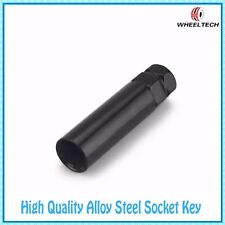 REPLACEMENT KEY FOR 7 SPLINE TUNER LUG NUTS BLACK WHEEL SOCKET KEY M14x1.5 M14x2