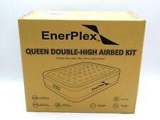 EnerPlex Premium 2019 Dual Pump Luxury Queen Size Air Mattress Airbed New