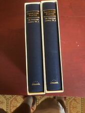 Library of America 2 Vol. Set  American Poetry The Nineteenth Century Vol 1 & 2