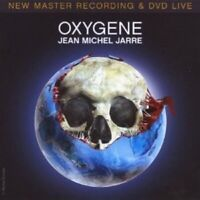 "JEAN-MICHEL JARRE ""OXYGENE-LIVE IN YOUR LIVING ROOM"" CD + DVD NEUWARE"