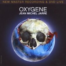 "JEAN-MICHEL JARRE ""OXYGENE-LIVE IN YOUR LIVING ROOM"" CD + DVD NEUWARE"