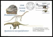 Spain dinosaur 2017 dinosaure dinosaurios Custom Stamp-only 5 cover made! cm46