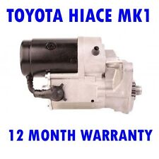 TOYOTA HIACE MK1 MK I 2.2 1979 1980 1981 1982 1983 STARTER MOTOR