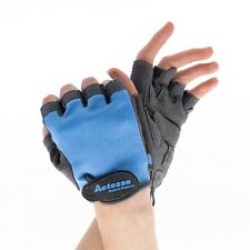 Actesso Weightlifting Anti-Slip Padded Gloves for Exercise Cycling - Mens Womens