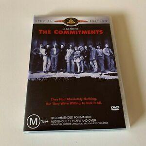 The Commitments (DVD 2004) 1991 film Glen Hansard Region 4