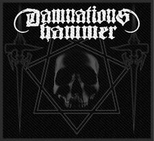 DAMNATION'S HAMMER PATCH / AUFNÄHER # 1 DISCIPLES OF THE HEX - 10x9cm