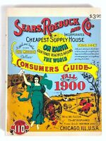 Sears Roebuck And Co. Consumers Guide Fall 1900 Catalogue No. 110 DBI Books 1970