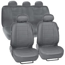 ProSyn Gray Leather Auto Seat Cover for Honda Accord Sedan, Coupe Full Set