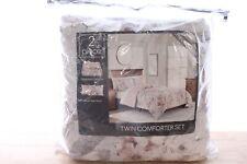Sunham 2 Piece Twin Comforter Set Colesville Floral Blush A9X315