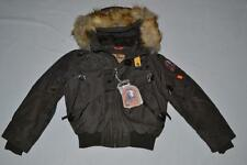 AUTHENTIC PARAJUMPERS GOBI ECO BOYS HOODED BOMBER BUSH SIZE 6 (KIDS) BRAND NEW