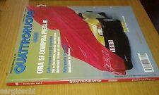 QUATTRORUOTE # 496 - FEBBRAIO 1997 - PUNTO RESTYLING-150 MODELLI - OTTIMO