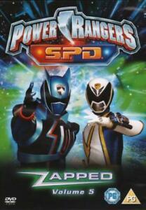 Power Rangers SPD : Zapped Vol 5 (DVD 2006)