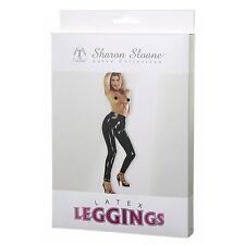 Sharon Sloane Black Latex Leggings Large Womens Ladies Lingerie 100 Discreet