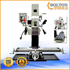 """27 1/2"""" x 7"""" Variable Speed Mill Drill Metal Working Milling Machine BF20VL"""