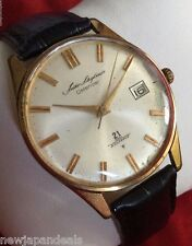 Rare Antique Seiko Skyliner Calendar Hand Winding 21 Diashock  Jewels for Men