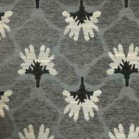Chelsea - Floral Pattern Heavy Chenille Upholstery Fabric by the Yard