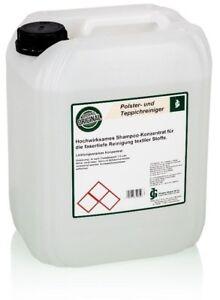 Teppich-Shampoo Polsterreiniger Teppichreiniger Waschsauger 10 Liter Konzentrat