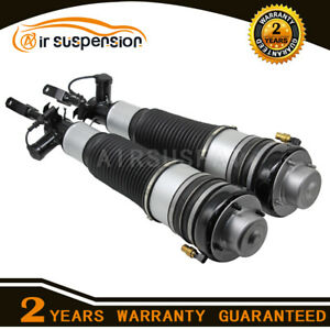 Pair Front L/R Air Suspension Shock Absorber For Audi A6 S6 C6 4F 4F0616039N