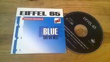 CD POP Eiffel 65-Blue: versione originale (2) canzone MCD BlissCo Rec CB