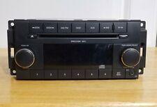Dodge Ram 1500 Truck Radio 2007 Am Fm Cd Player Aux Mp3 Input Ref W Warranty