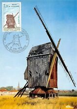 Carte Maximum FDC France MOULIN DE STEENVOORDE 1979 STEENVOORDE
