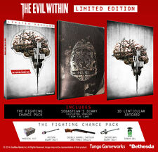 PS4 THE EVIL WITHIN LIMITED EDITION (Sony Playstation 4, 2014) PAL