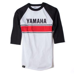 Factory Effex mens Yamaha Vintage Baseball t-shirt- large _ 17-87234