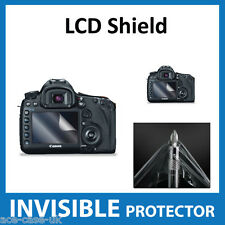 Canon EOS 5D MK III (Mark 3) Dslr INVISIBLE LCD Screen Protector Shield