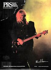 1992 Alex Lifeson Of Rush In A Prs Guitar Ad
