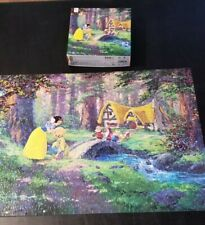 Ceaco 2015 Disney Sweet Goodbye Snow White Jigsaw Puzzle 550 Pc Complete