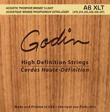 Godin Seagull cuerdas para/cuerdas for Guitarra Western A6 XLT
