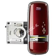 Milre MI-350K Digital Door Lock Keyless Security Entry 1Way Passcode - Wine Red