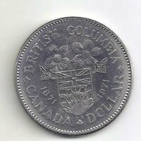 1971 British Columbia Canadian  Dollar